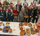 Veintiséis recetas y relleno para 400 en las fiestas de Villava