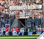El bonito gesto de la afición del Eintracht Frankfurt con Lucas Torró