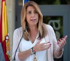 Susana Díaz anuncia que está embarazada de cuatro meses