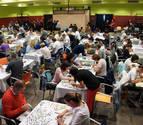 Una pareja de Obanos se lleva el Campeonato de Puzzles de Castejón