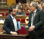 Crisis en el Gobierno catalán tras romperse el bloque independentista