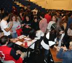 La Feria del Voluntariado de Jesuitas Tudela reúne a unos 340 estudiantes