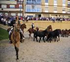 Doscientos jinetes se dan cita en la feria del caballo de Marcilla