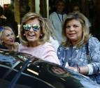 Terelu Campos abandona el hospital tras su doble mastectomía