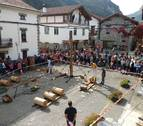 Burgui acoge este sábado la Fiesta de la Madera