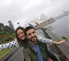 Una pareja de navarros que trabaja en energía solar en Australia