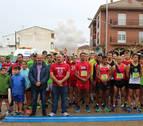 La lluvia cala en Andosilla a 300 'runners' solidarios