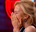 El ataque de risa de Carmen Lomana en 'MasterChef' con su pato