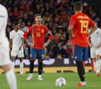 España decepciona ante Inglaterra y se jugará el pase en Croacia