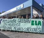 Las ITV de Mercairuña y Arbizu cerraron con motivo de las protestas de sus trabajadores