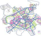 Idean un carril bici a menos de 100 metros de cada casa en Pamplona