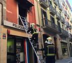 El autor del fuego en la calle Mayor usó acelerantes para iniciarlo