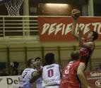 El Basket Navarra consigue su primer triunfo como local ante el Bodegas Rioja