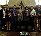 La noche del periodismo navarro en la velada de los premios Teobaldo