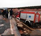 El temporal deja un muerto, vías cortadas, evacuaciones y daños en Andalucía