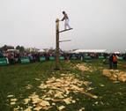Miles de personas participan en Alsasua en el Nafarroa Oinez