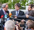 Puigdemont y Torra anuncian la inauguración del Consell de la República el 30 de octubre