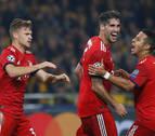 Javi Martínez marca en la victoria del Bayern en la Liga de Campeones