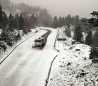 Mucha lluvia y nieve en cotas bajas: el tiempo se complica en el norte de Navarra