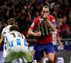 El Atlético descarta la crisis y se aúpa al liderato