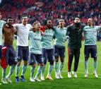 Javi Martínez, titular en la apurada victoria del Bayern contra el Mainz