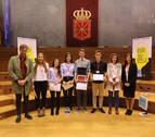 El IES Navarro Villoslada gana el IX Torneo de Debate de Bachillerato