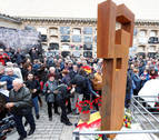 Navarros y aragoneses recuerdan juntos a 225 fusilados en Zaragoza en 1936