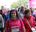 Saray aspira a vender 15.000 dorsales en la carrera contra el cáncer de mama