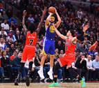 Klay Thompson bate el récord de triples en la NBA