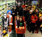Un supermercado terrorífico en Burlada