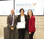 La ONCE premia a la agencia navarra Lursarea