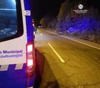 Herido un conductor al volcar su vehículo en Pamplona por cuadruplicar la tasa de alcohol