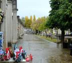 Mensajes al más allá en el cementerio de Pamplona