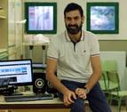 Andrés Rico, el profesor 'youtuber' de Pamplona