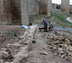 Hallados en el Cerco de Artajona restos de cerámica de la época prerromana