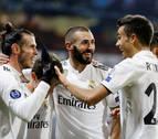 El Real Madrid resucita a base de pegada