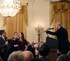 La Casa Blanca veta la entrada a un periodista de la CNN  tras el incidente con Trump