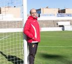 """Lumbreras, entrenador del CD Tudelano: """"Me siento 'fresco' y con cosas que aportar"""""""