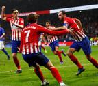 Godín y el gol del cojo remontan al Athletic