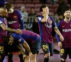 El Betis asalta el Camp Nou y aprieta la Liga