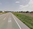 Herido un hombre de 73 años en un accidente en Cadreita