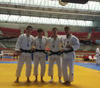 Cuatro medallas navarras en la Copa de España