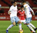 El Zaragoza gana al Nàstic de Martín y sale de los puestos de descenso