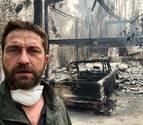 Miley Cyrus y Gerard Butler pierden sus casas en los incendios de California