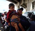 Primer día de Diario de Navarra junto a la 'caravana migrante' que recorre México hacia EE UU