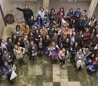 Cien mujeres gitanas de toda Navarra participan en un encuentro en Estella