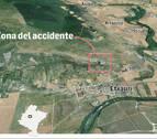 Fallece un hombre de 66 años tras precipitarse en la sierra de Etxauri