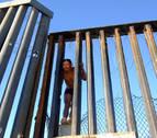 La 'caravana migrante' llega al muro de Tijuana, frontera con Estados Unidos