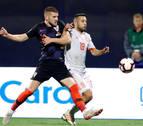 España pierde en Zagreb y queda en manos de Inglaterra y Croacia