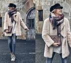 Cómo combinar un abrigo de pelo en looks informales